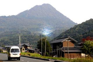杉山(登尾集落から)