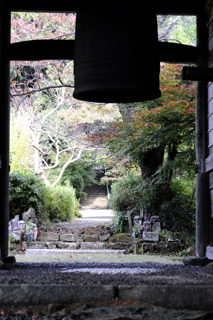 多禰寺(山門より)