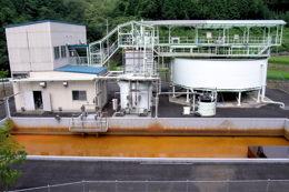 福知山鉱山坑排水処理場