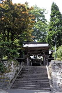 大川神社中門