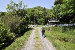 建部山登山道喜多側入り口